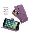 Suede Split iPhone case
