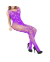 Caged Fishnet Garter Bodystocking