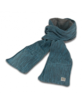 Microwavable Thermal Scarf with pocket & hand warmer