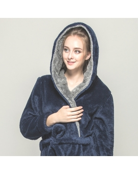 Premier Hooded Bamboo Bathrobe