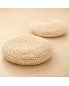 Natural Bamboo Zabuton Cushion