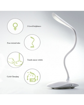 20 LED EyeCare Reading Desk Lamp