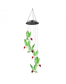 Solar LED Wind Chime