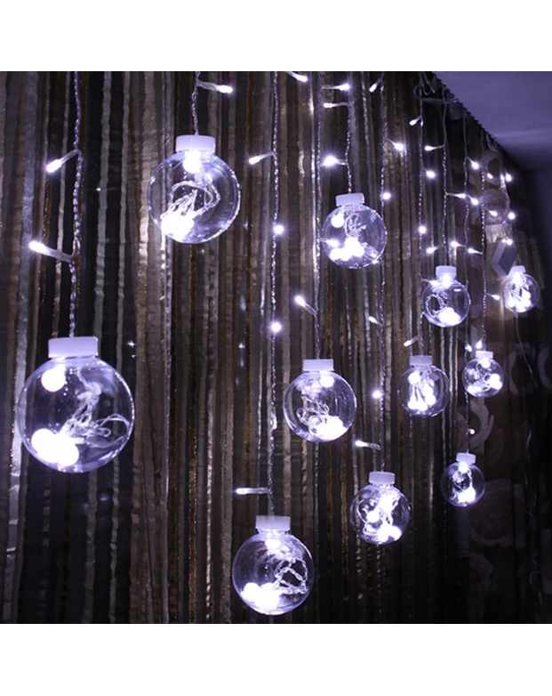 138 LEDs Window Curtain String Light