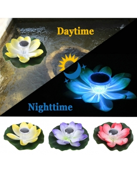 Solar Lotus Light