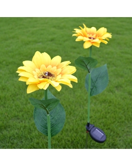 Solar Sunflower Lights (Pack of 2)