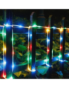 Solar Rope LED Copper Lights