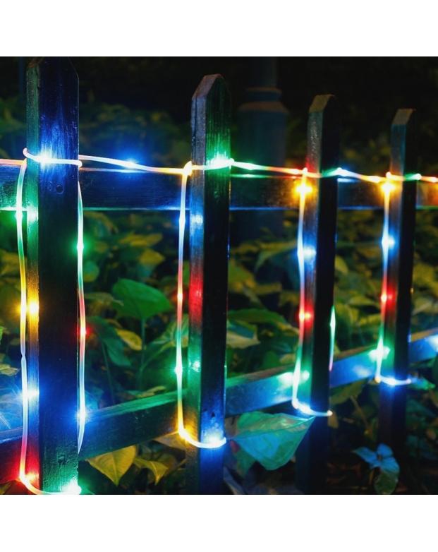 Solar Rope LED Copper Lights