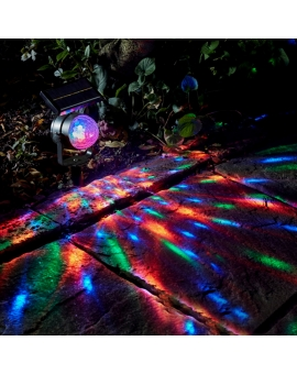Solar LED Color Changing Garden Light