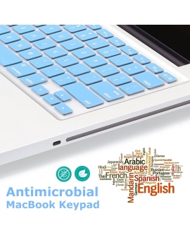 Antimicrobial MacBook Keypad