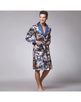Bamboo Satin Dragon Robe