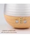 0.06 Gal. Crystal Glass Ultrasonic Humidifier