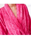 Women's Bamboo Plush Bathrobe