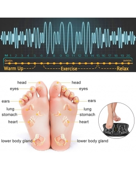 EMS Electrode Foot Massage Pad