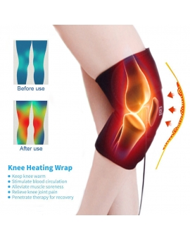 Knee Heating Brace Wrap