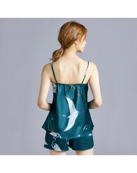 Crane birds Cami Set