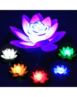 Floating LED Lotus Lights