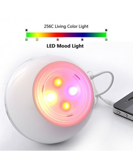 Living Colors Mood Lamp with Speaker & Radio