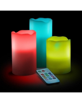 LED Flameless Pillar Candle
