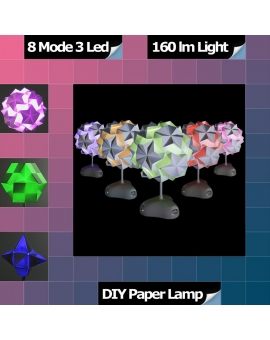 Origami LED Desk Mood Lamp