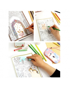 Art Haven Calm Coloring Book